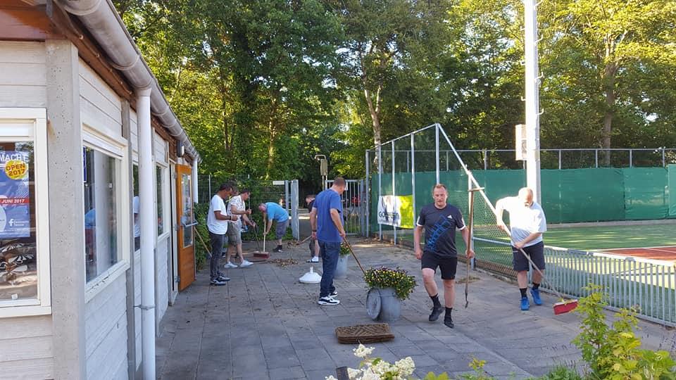 Klusdag Zeemacht Tennis 001