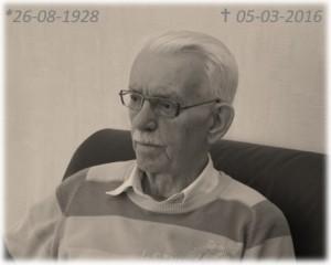 meneer Van Roon in memorium